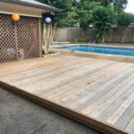 Germantown Tennessee Pool Deck Construction & Stain