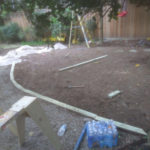 Artificial Turf Installation Before