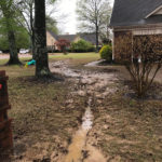Germantown French Drain Installation