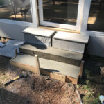 Tiled Concrete Step Construction in Memphis, TN