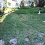 Before Sod & Field stone Landscape Upgrade