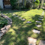 After Sod & Field stone Landscape Upgrade