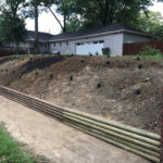 Northwood Sod, Drainage & Landscaping Cedar Ties
