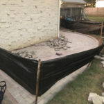 Paver Patio with new French Drain
