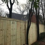 New Eight Foot Privacy Fence