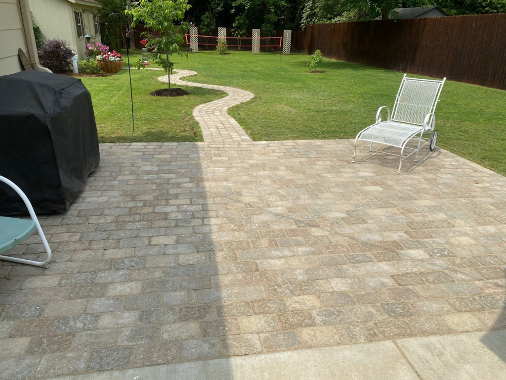 Patio & Landscape Makeover