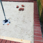 New Paver Patio Before